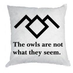 Подушка Твин Пикс совы