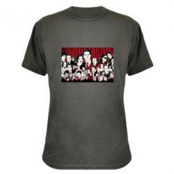 Камуфляжная футболка Твин Пикс