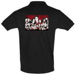 Мужская футболка поло Твин Пикс