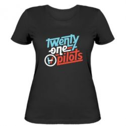 Жіноча футболка TWENTY ØNE PILØTS