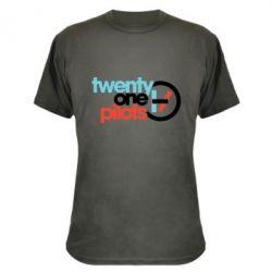 Камуфляжна футболка Twenty One Pilots Logo