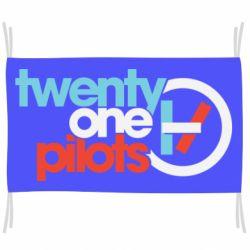 Прапор Twenty One Pilots Logo
