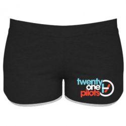 Жіночі шорти Twenty One Pilots Logo