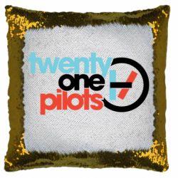 Подушка-хамелеон Twenty One Pilots Logo