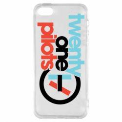 Чохол для iphone 5/5S/SE Twenty One Pilots Logo