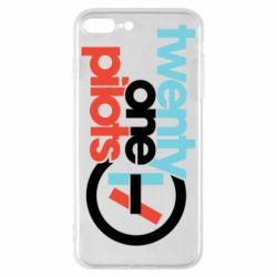 Чохол для iPhone 8 Plus Twenty One Pilots Logo