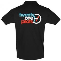 Футболка Поло Twenty One Pilots Logo