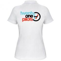 Жіноча футболка поло Twenty One Pilots Logo
