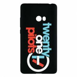 Чохол для Xiaomi Mi Note 2 Twenty One Pilots Logo