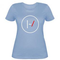 Женская футболка Twenty One Pilots Logotype
