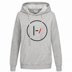Женская толстовка Twenty One Pilots Logotype