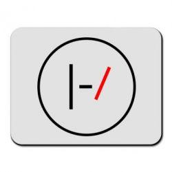 Коврик для мыши Twenty One Pilots Logotype