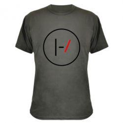 Камуфляжная футболка Twenty One Pilots Logotype