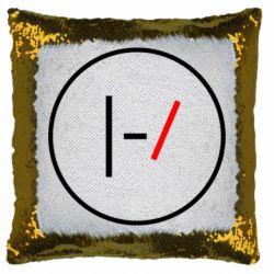 Подушка-хамелеон Twenty One Pilots Logotype