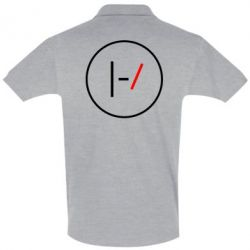 Мужская футболка поло Twenty One Pilots Logotype
