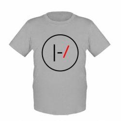 Детская футболка Twenty One Pilots Logotype