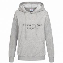 Женская толстовка Twenty One Pilots - FatLine