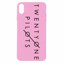 Чехол для iPhone Xs Max Twenty One Pilots - FatLine