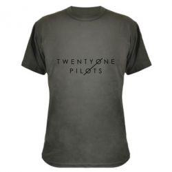 Камуфляжная футболка Twenty One Pilots - FatLine