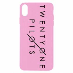 Чехол для iPhone X Twenty One Pilots - FatLine