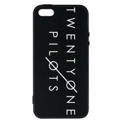 Чехол для iPhone5/5S/SE Twenty One Pilots - FatLine