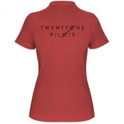 Женская футболка поло Twenty One Pilots - FatLine