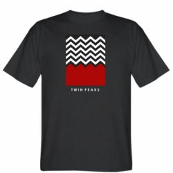 Мужская футболка Twin pix poster