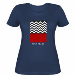 Женская футболка Twin pix poster