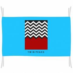 Флаг Twin pix poster