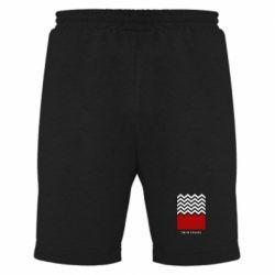 Мужские шорты Twin pix poster