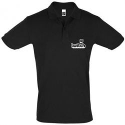 Футболка Поло Twitch logotip
