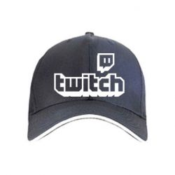 Кепка Twitch logotip
