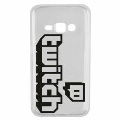 Чохол для Samsung J1 2016 Twitch logotip