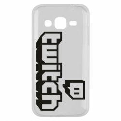 Чохол для Samsung J2 2015 Twitch logotip