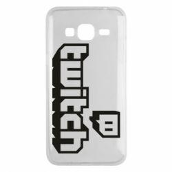 Чохол для Samsung J3 2016 Twitch logotip