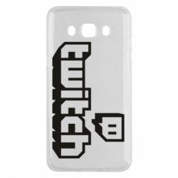 Чохол для Samsung J5 2016 Twitch logotip
