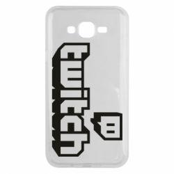 Чохол для Samsung J7 2015 Twitch logotip