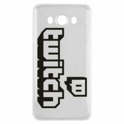 Чохол для Samsung J7 2016 Twitch logotip