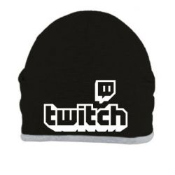 Шапка Twitch logotip