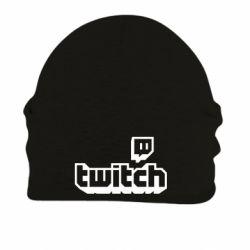Шапка на флісі Twitch logotip