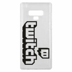 Чохол для Samsung Note 9 Twitch logotip
