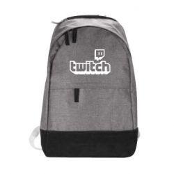 Рюкзак міський Twitch logotip