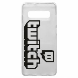 Чохол для Samsung S10+ Twitch logotip