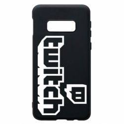Чохол для Samsung S10e Twitch logotip