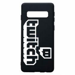 Чохол для Samsung S10 Twitch logotip