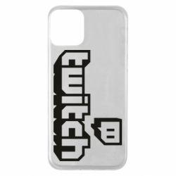 Чохол для iPhone 11 Twitch logotip