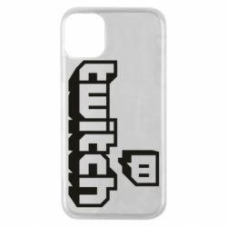 Чохол для iPhone 11 Pro Twitch logotip