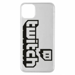 Чохол для iPhone 11 Pro Max Twitch logotip