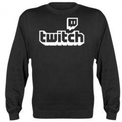 Реглан (світшот) Twitch logotip