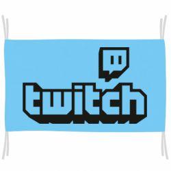 Прапор Twitch logotip